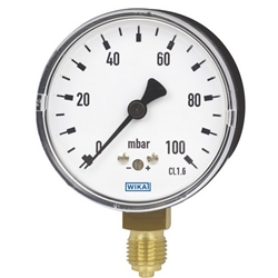 Low pressure capsule pressure gauges described and option to buy gauges