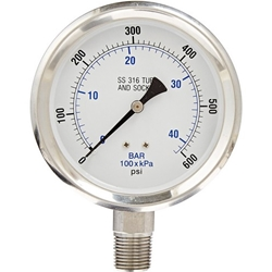Industrial Pressure & Vacuum Gauge described and option to buy gauges