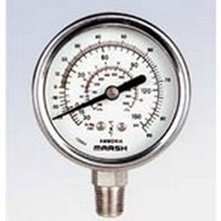 Shop for all pressure and vacuum gauges using filtering criteria