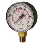 "WIKA 111.10 - 1.5"" Dial - 0-60 psi Pressure Gauge  - Restrictor in Socket"