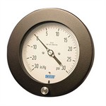 "WIKA 212.25 - 4.5"" Dial - 0-200 psi/kPa Pressure Gauge  - Restrictor in Socket"