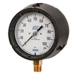 "WIKA 212.34 - 4.5"" Dial - 30x160 psi Compound Gauge"