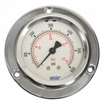 "WIKA 212.53 - 2.5"" Dial - 0-400 psi/bar Pressure Gauge  - Oxygen Cleaned"