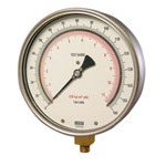"WIKA 312.20 - 6.0"" Dial - 30x200 psi Compound Gauge"